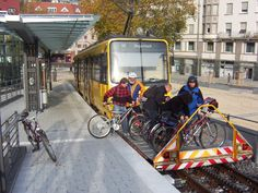 Amazing German Bike-Carrying Train