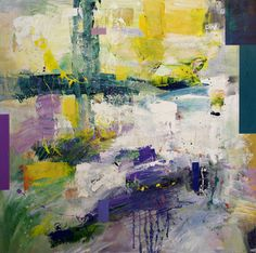 "Saatchi Art Artist Mark Leysen; Painting, ""Jacaranda"" #art"