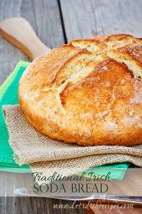 Traditional Irish Soda Bread - Four-ingredient Irish soda bread that's ready to eat in under an hour