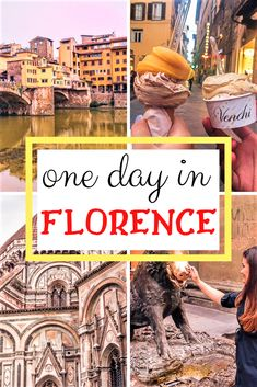 Somewhere in the center of Italy, right in the heart of Tuscany, there is a romantic, blooming and lively city, called Firenze or Florence. Italy Travel Tips, Europe Travel Guide, Rome Travel, Usa Travel, Travel Guides, One Day In Florence, Florence Italy, European Destination, European Travel