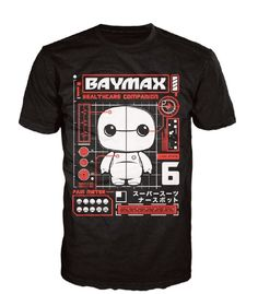 Disney Baymax Tech Pop! Tees! T-Shirt