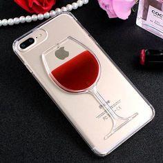 Red Wine Cup Liquid Case