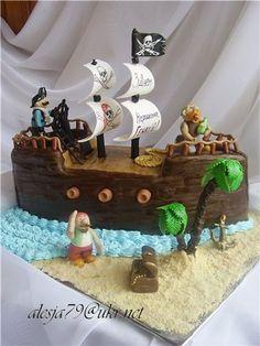 торт пиратский корабль фото - Поиск в Google