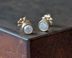 ice diamond stud earrings  #alexisrusselljewelry #diamond #studs