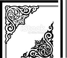 stock-illustration-5438830-gothic-corner-design.jpg (380×331)