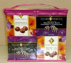 12 Pack - 3oz Assortment - 6 Boxes each of Kahakea White Stripe Chocolate Macadamia Nuts and Napua Chocolate Macadamia Nuts