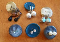 Button Organizers for Earrings | Easy Storage Ideas for Small Spaces
