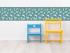 Stunning Delfine als Kinderzimmer Bord re I love Wandtattoo de