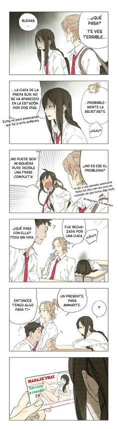 Tamen Di Gushi. Cap 1, pág. 5 - [Link] http://eytahi.com/tamen-di-gushi-capitulo-1-manga-yuri-espanol/