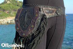 """Leather Utility Hip Belt _""""CROSS""""_ High Quality Handmade Designer Pocket Belt Bag 4 Gypsy/Nomad/Urban Lifestyle [Festival.Travel.concert]"""