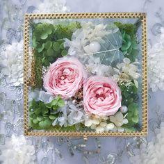 Preserved flower jewelry box #austinrose #cmeldesign #preservedflower #jewelrybox #永生花 #不凋花 #weddinggift #romantic