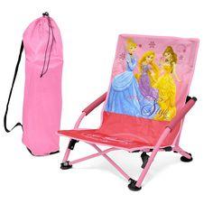 Disney Princess Folding Lounge Chair, Multicolor