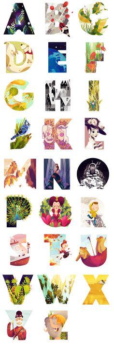 36 Days Of Type – 36 days of gorgeous graphic & typography — Kuvva Blog