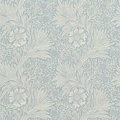 The Original Morris & Co - Arts and crafts, fabrics and wallpaper designs by William Morris & Company | Products | British/UK Fabrics and Wallpapers | Marigold (DM6P210368) | Morris Archive Wallpapers