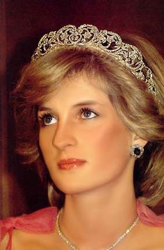 Princess Diana Wedding Tiara, LOVE!