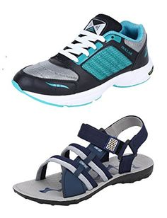 Crafted with Prime quality imported material, this combo Pack of 2 Pair of shoes with Sandals and Floaters is durable and lightweight in order to make you go through the Amazon Associates, Birkenstock Florida, Running Shoes, Lace Up, Pairs, Sandals, Sports, Check, Leather