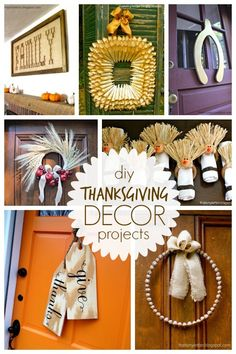 """That's My Letter: """"T"""" is for Thanksgiving Decor Projects"""