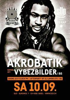Akrobatik @ Sudhaus Basel 10/09/16