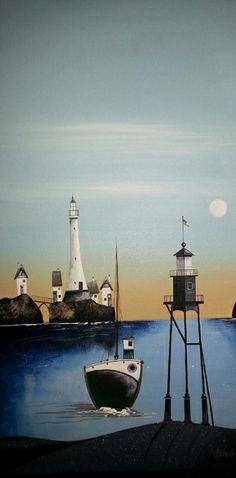 Lighthouse Island - Gary Walton
