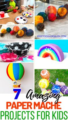 7 Amazing Paper Mache Projects For Kids That Will Wow Them Fun Crafts For Kids, Easy Diy Crafts, Projects For Kids, Art Projects, Arts And Crafts, Activities For 2 Year Olds, Toddler Learning Activities, Brisbane Kids, Paper Mache Projects