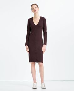Image 1 of FITTED DRESS from Zara