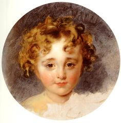 Sir Thomas Lawrence - A Portrait of The Honourable George Fane (1819-1848) later Lord Burghersh, when a boy.