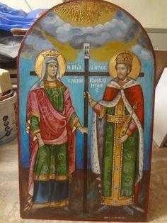 My Art Studio, Orthodox Icons, Emperor, Ikon, Greece, My Arts, Painting, Gothic Art, Greece Country