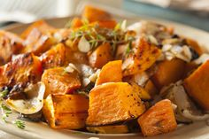Spicy Sweet Potatoes!