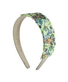 Headband by Sereni & Shentel 2013 Limited Edition Artist Series by Zoë Paterson - Giraffe. Made in Borneo.
