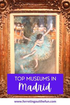 What to see at the Big Three museums in Madrid - the Prado, Reina Sofia, and Thyssen-Bornemisza // #traveltips #spain #art Magical Vacations Travel, Vacation Trips, Day Trips, Amazing Destinations, Travel Destinations, Salvador Dali Paintings, Francisco Goya, Big Three, Museum Of Modern Art
