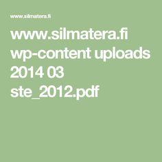 www.silmatera.fi wp-content uploads 2014 03 ste_2012.pdf