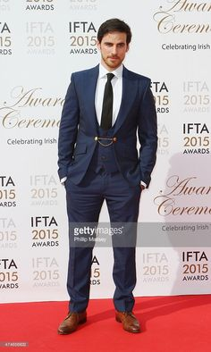 Colin O'Donoghue at the IFTA 2015 Awards - dang son, you own that suit