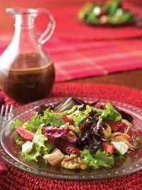 Cheerwine and Walnut Vinaigrette