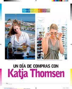 Un día de compras con Katja Thomsen