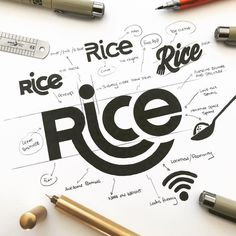 """RICE APP - FINAL SKETCH . This is """"Rice"""" and our slogan is """"Places to eat people to meet"""". The... #logotype #logomark #graphicdesign #dribbble #logonew #brandidentity #symbol #businesslogo #logogrid #logoinspire #logoinspirations #branding #logoplace #logopassion #logoprocess #glacreative #logosai #dailylogo"""