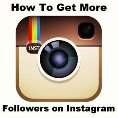 How To Get More Followers on Instagram #followgram #instafollow