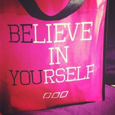 """""""Believe in Yourself."""" Motivation Monday Quote"""