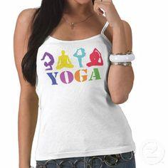 Colorful Yoga top