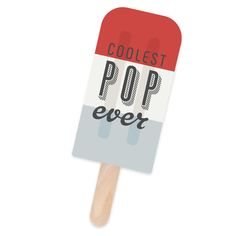 Coolest Pop Ever - Father's Day Card. Create this card using AccuCut's #10 Cards-Popsicle Pinnovation die.