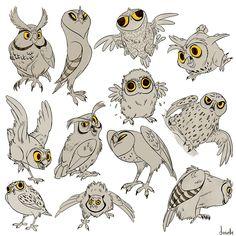 MANY OWLS HANDLE IT by doingwell.deviantart.com on @deviantART