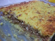 This is a delicious dish we make in Argentina. Its almost more like a casserole than a pie. Instead of potatoes you can also use mashed cauliflower, carrots or sweet potatoes as well.