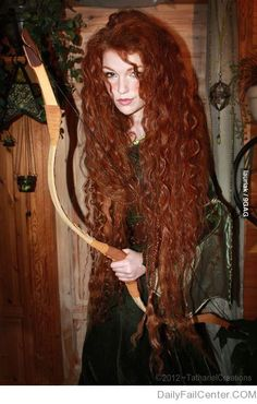 Merida, she's totally real