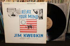 "Jim Kweskin ""Relax Your Mind"" LP Original Stereo 1966 RARE Vanguard Records, with Mel Lyman and Fritz Richmond (Ragtime Jug Band Folk Vinyl Record)"