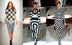 OpticalIllusionPrint: Make a statement with this black and white Optical.