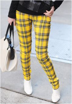 Now this plaid would totally get you noticed!