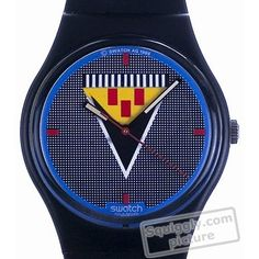 Swatch Lancelot GB110 - 1986 Fall Winter Collection