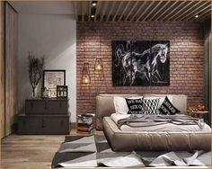 Wallposter with great image make room bright and large. Well equiped
