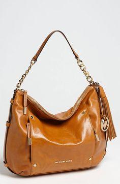 Devon Large Leather Shoulder Bag - Lyst