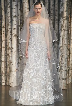 Naeem Khan Wedding Dresses Spring 2015 Bridal Runway Shows Brides.com | Wedding Dresses Style | Brides.com