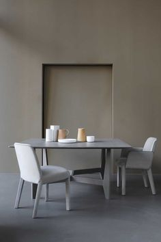 Piet Boon Styling by Karin Meyn | YKE table with our new MINNE dinning chairs. Styling: Studio Piet Boon Styling & artist John Biesheuvel. Credits: Enrico Conti.